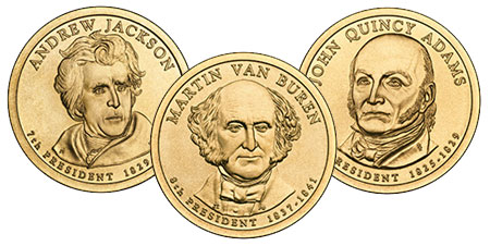 2008 Presidential Dollar Coins