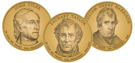 2009 Presidential Dollar Coins