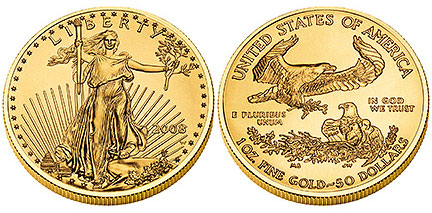 2008-W Uncirculated Gold Eagle