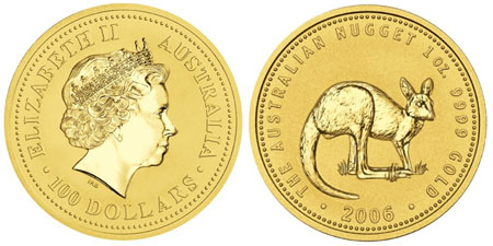 Gold Kangaroo