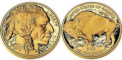 2009 Gold Buffalo Proof Coin