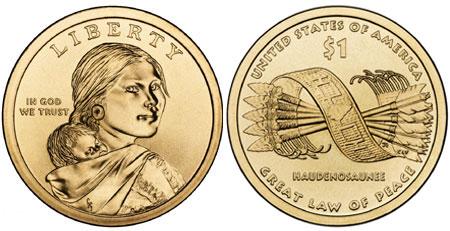2010 Native American Dollars