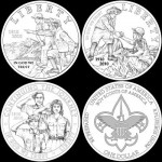Boy Scouts Commemorative Coins