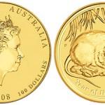 Gold Lunar Coin Series