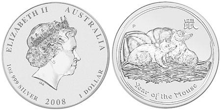 Australian Lunar Silver Coins
