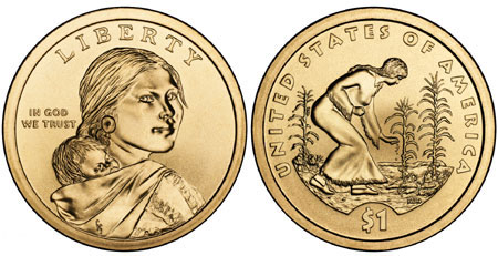 2009 Native American Dollar