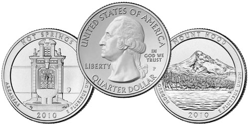 2010 America the Beautiful Quarters