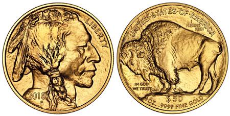 2010 Gold Buffalo Coins