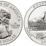 2010 Mount Hood National Forest Silver Bullion Coin