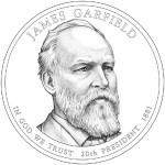2011 James A. Garfield Presidential Dollar