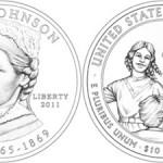 Eliza Johnson First Spouse Gold Coin